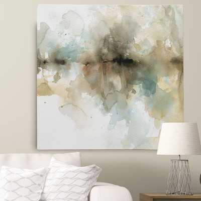 'Island Mist II' Painting Print on Wrapped Canvas - Wayfair