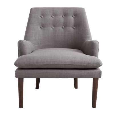 Carncome Armchair-  Light Grey - Wayfair