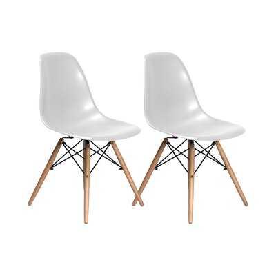 Kling Dining Chair set of 2 - Wayfair