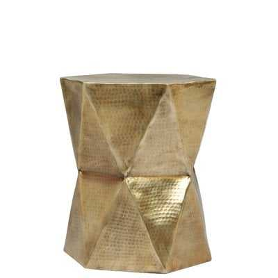 Anicuta Drum End Table - Wayfair