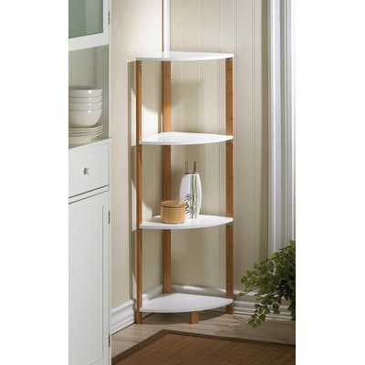 Corner Unit Bookcase - Wayfair