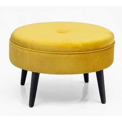 Kean Tufted Cocktail Ottoman - Wayfair