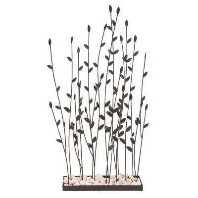 Tuttle Grasses Metal Sculpture - Wayfair