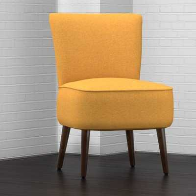 Cureton Slipper Chair- Mustard Yellow - AllModern