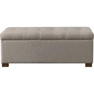 Ravenwood Upholstered Storage Bench - Wayfair