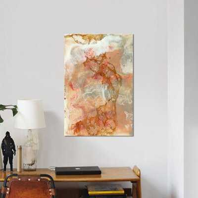 'Coral Lace I' Painting Print on Canvas - Wayfair