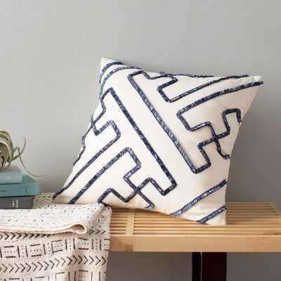 Indira Dean Parchment Throw Pillow - Wayfair
