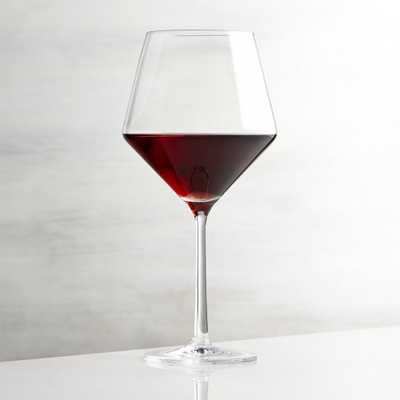 Tour Red Wine Glass - Crate and Barrel
