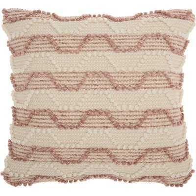 Ellijay Bohemian Textured Throw Pillow - Wayfair