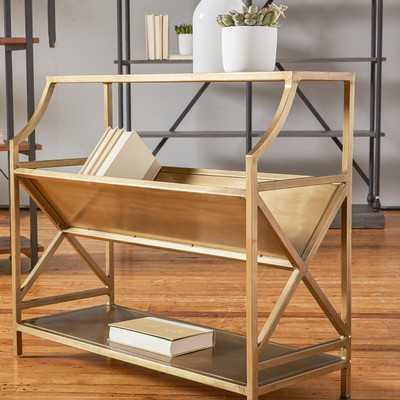 Romano Standard Bookcase - Wayfair