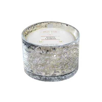 17.2oz Glass Jar 3-Wick Candle White Citron Mercury - The Collection By Chesapeake Bay Candle - Target
