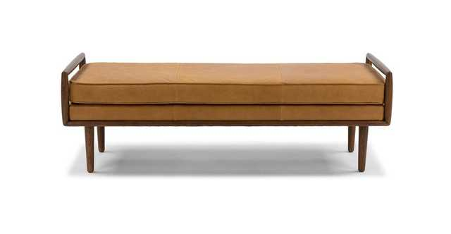 Ansa Charme Tan Bench - Article