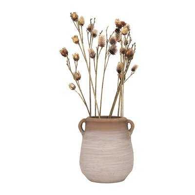 Alpena Small Terracotta Table Vase - Wayfair
