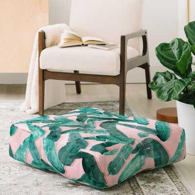 Dash and Ash Banana Leaf Floor Pillow - Wayfair