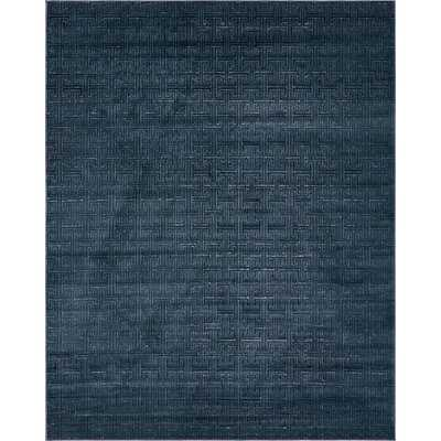 Uptown Park Avenue Navy Blue Area Rug - Wayfair