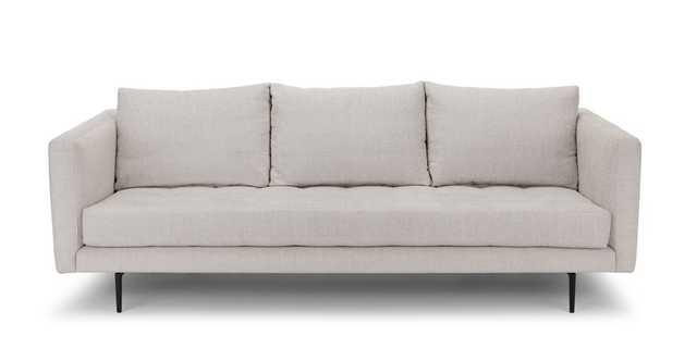 Parker Coconut White Sofa - Article