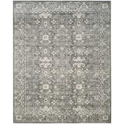 Evoke Grey/Ivory 8 ft. x 10 ft. Area Rug, Gray/Ivory - Home Depot