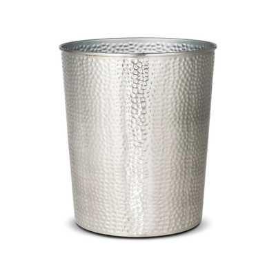 Bathroom Wastebasket Silver - Threshold - Target