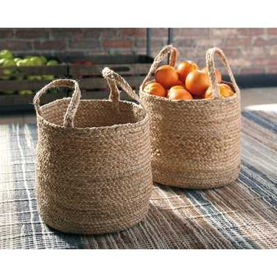 Jute Basket - Wayfair