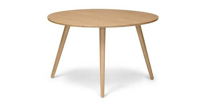 Seno Oak Round Dining Table - Article