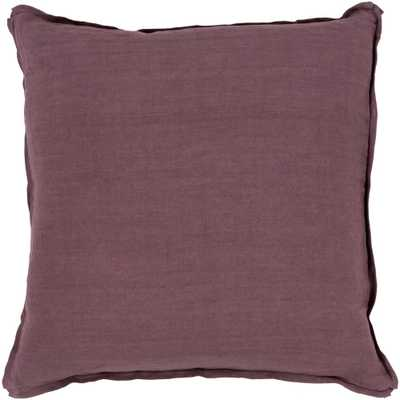 Zevgari Poly Euro Pillow, Purples/Lavenders - Home Depot