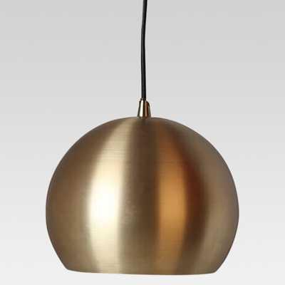 Modern Globe Pendant Ceiling Light Brass Lamp Only - Project 62 - Target