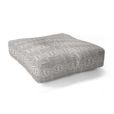 Shoshana Geometric Floor Pillow - AllModern