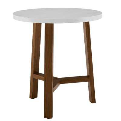 Lucian Round End Table - AllModern