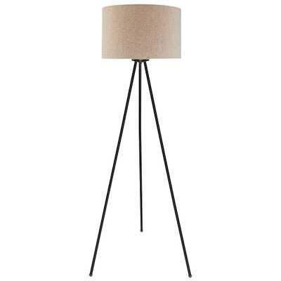 Lite Source Tullio Dark Bronze Tripod Floor Lamp - Style # 33F04 - Lamps Plus