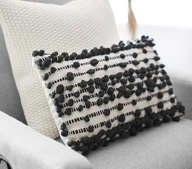 Chunky Loop Pillow, Black/White - Pottery Barn Kids