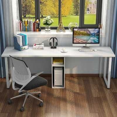 Olander Double Workstation Computer Desk - Wayfair