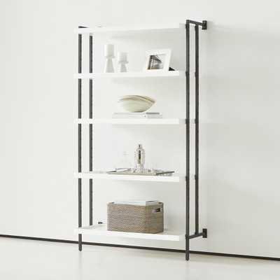 Flex Modular 5-Shelf Bookcase - Crate and Barrel
