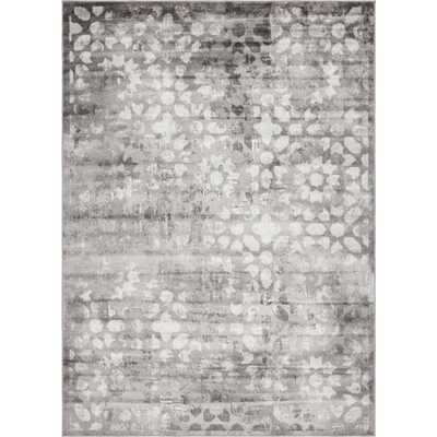 Sofia Dark Gray 7 ft. x 10 ft. Area Rug - Home Depot
