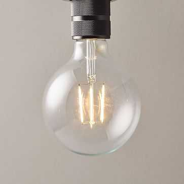LED Light Bulb, Clear Large Globe - West Elm