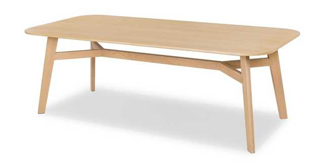 Ventu Light Oak Dining Table for 8 - Article