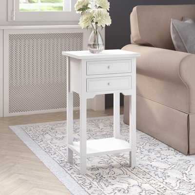 Berwick End Table With Storage - Wayfair
