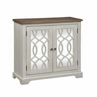 Liberty Furniture 2 Door Mirrored Accent Cabinet - eBay