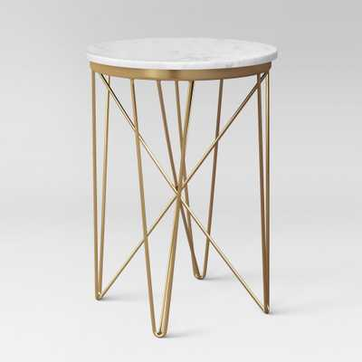 Marble Top Round Table Gold - Project 62 - Target