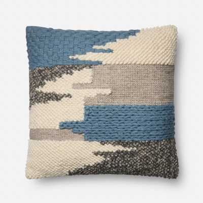 PILLOWS - BLUE - Loma Threads