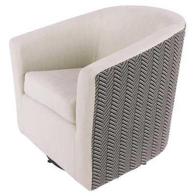 Teesha Swivel Barrel Chair - Wayfair
