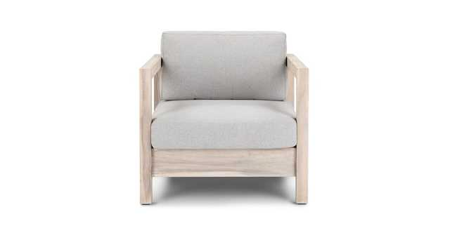Arca Driftwood Gray Lounge Chair - Article