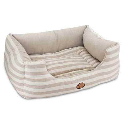Striped Reversible Cozy Pet Cuddler Bolster - Wayfair