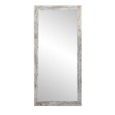 BrandtWorks 32 in. x 66 in. American Barn Wood Floor Mirror - Home Depot