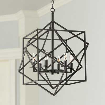 "Possini Euro Tangle 23"" Wide Bronze 6-Light Entry Pendant - Style # 45N08 - Lamps Plus"