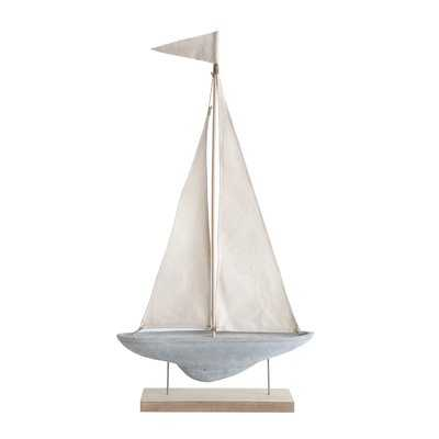 Prime Cement and Fabric Boat - Wayfair