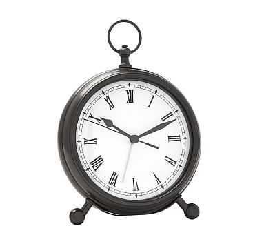 Pocket Watch Clock, Medium, Bronze finish - Pottery Barn