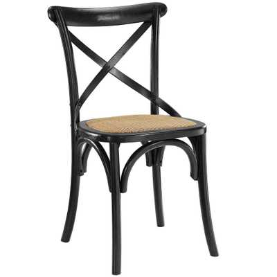 Gear Black Dining Side Chair - Home Depot