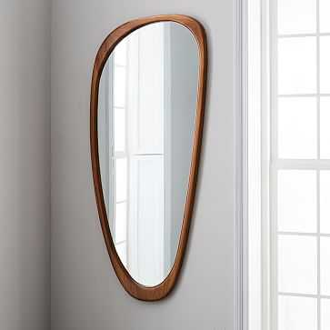 Mid-Century Asymmetrical Floor Mirror - West Elm