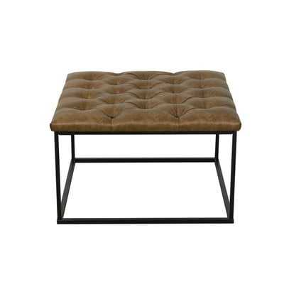 Thrapst Faux Leather Bench - Wayfair