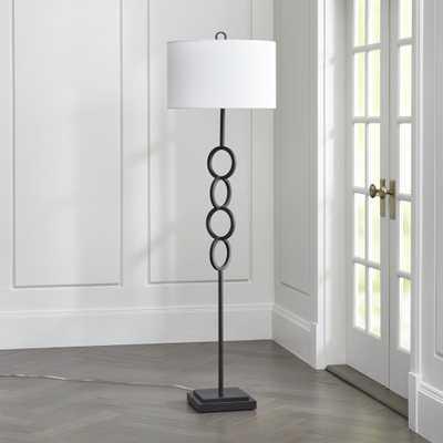 Axiom Black Floor Lamp - Crate and Barrel